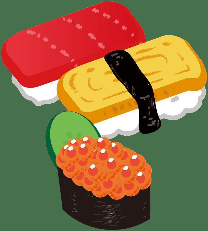 Sushi clipart transparent 12