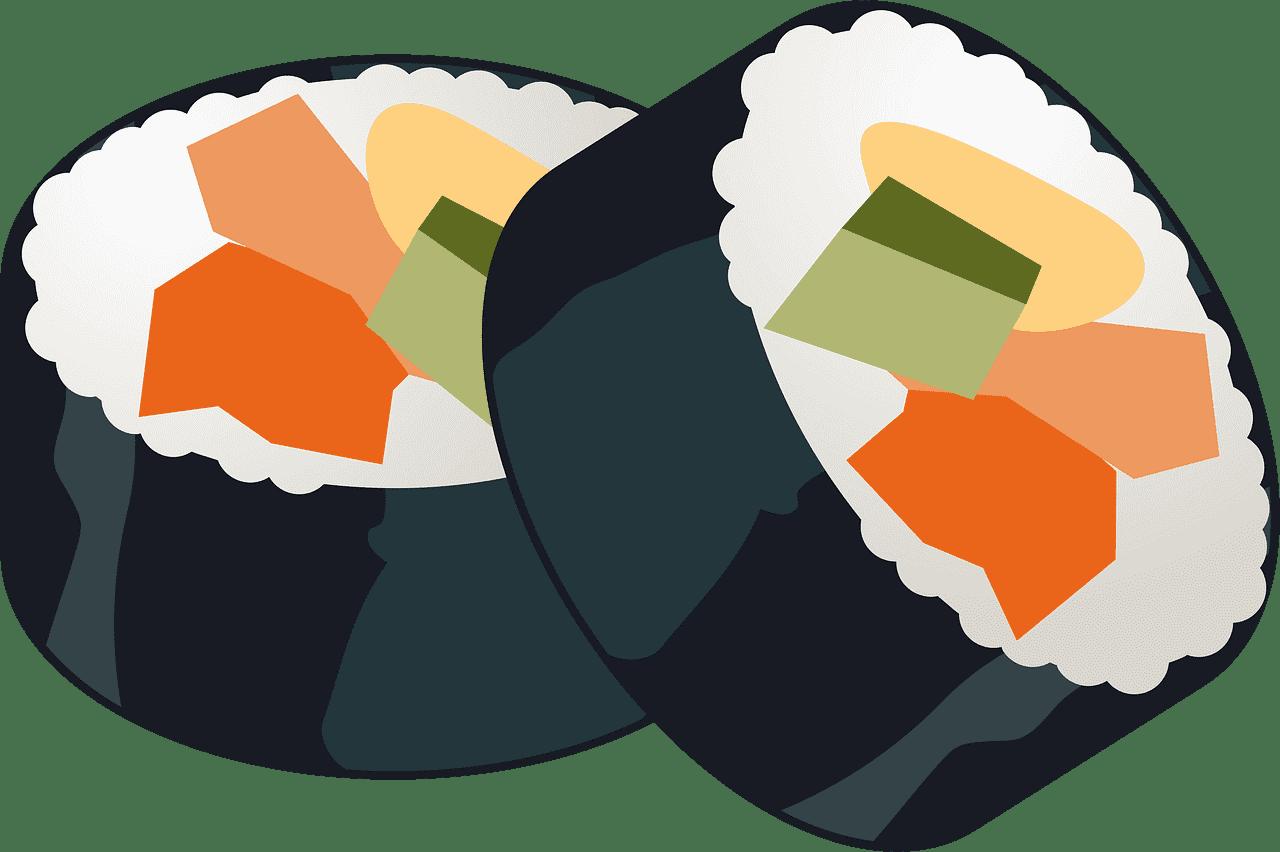 Sushi clipart transparent 14