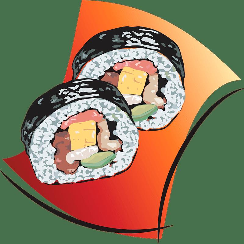 Sushi clipart transparent 9