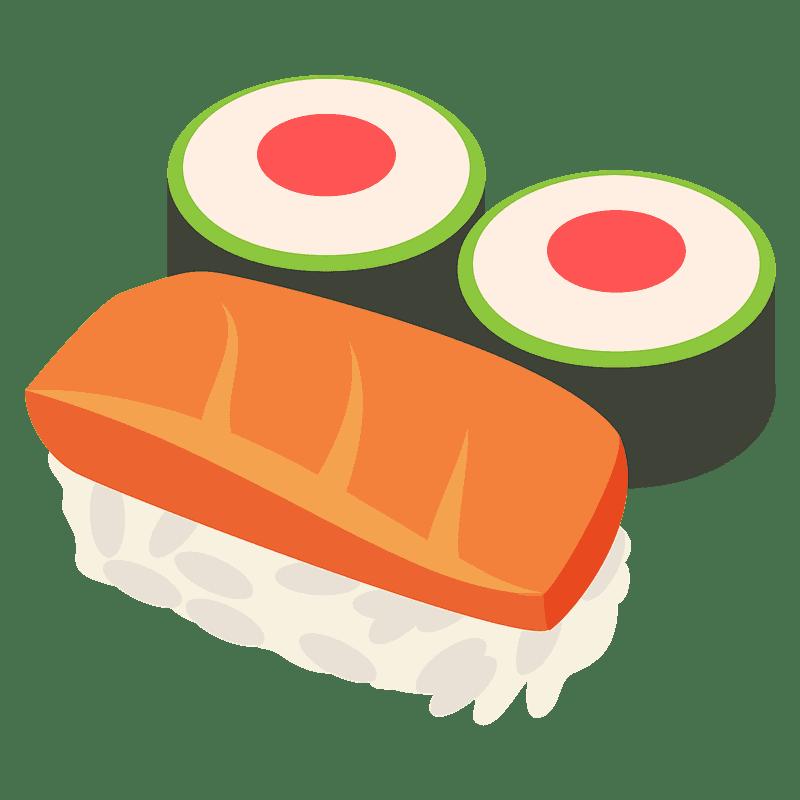 Sushi clipart transparent background 6