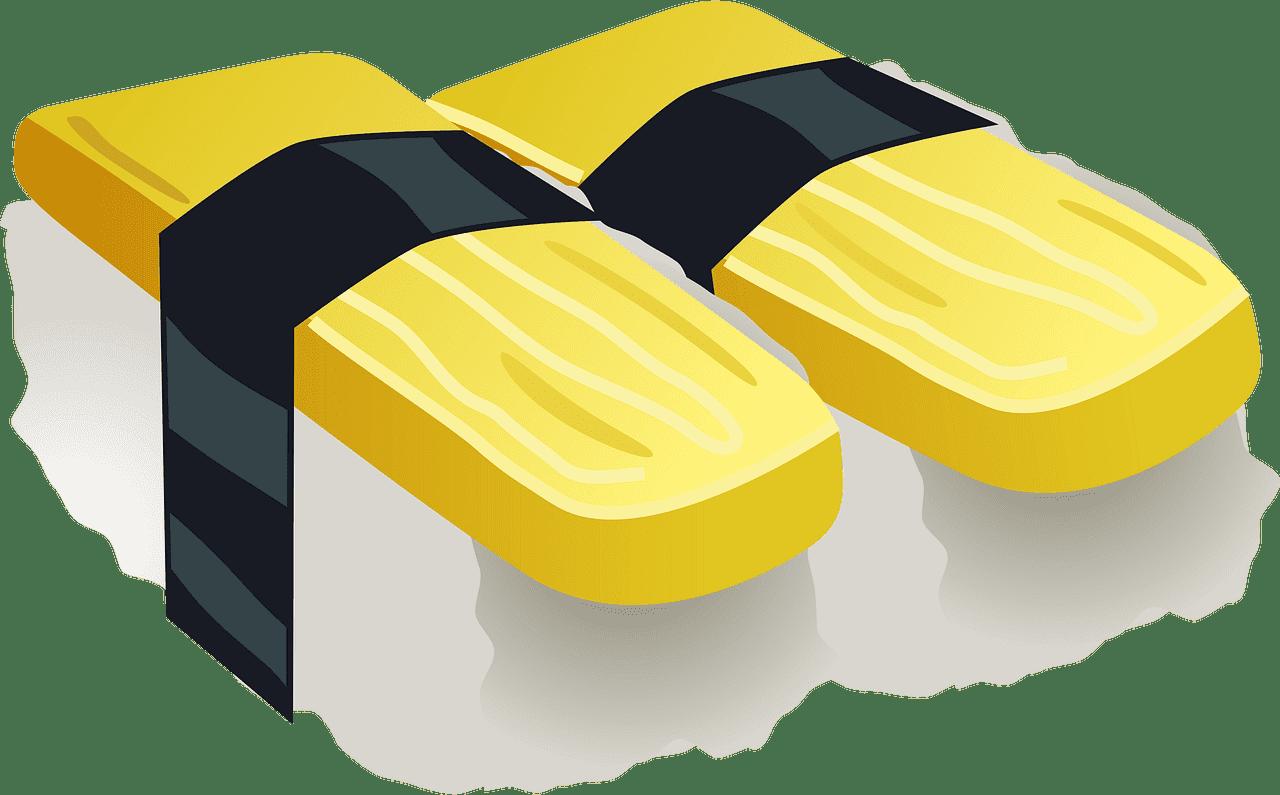 Sushi clipart transparent background