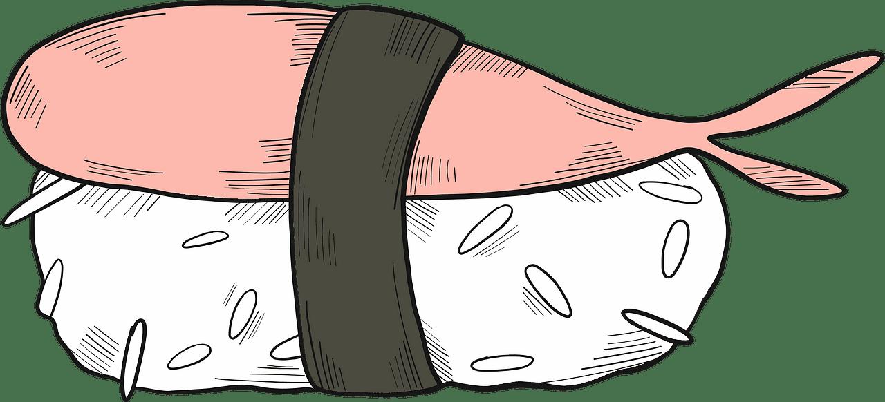 Sushi clipart transparent free