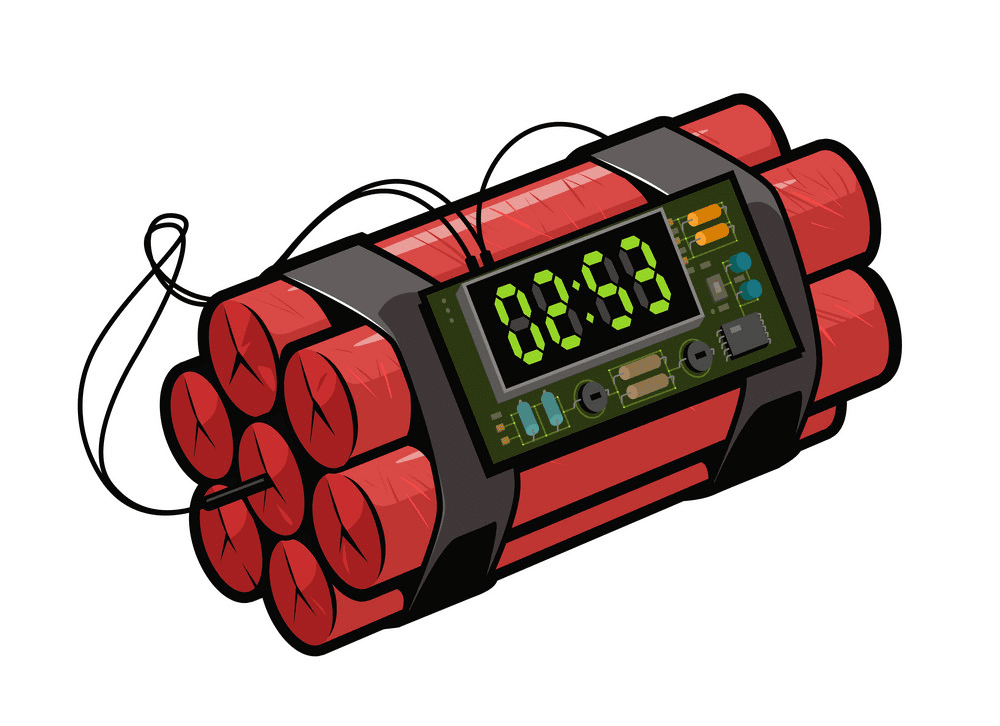 Time Bomb clipart for free