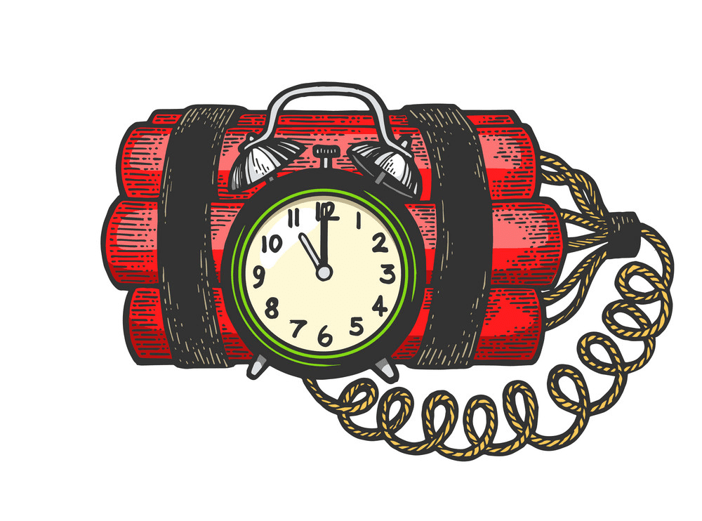 Time Bomb clipart free image