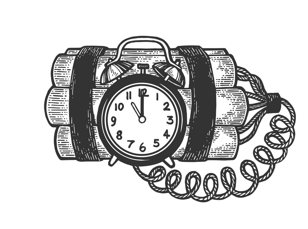 Time Bomb clipart free images