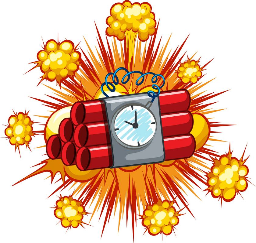 Time Bomb clipart image