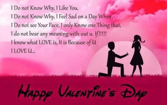 Valentine's Day Wishes png 4