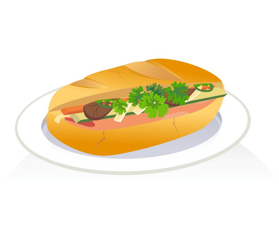 Vietnam Sandwich clipart