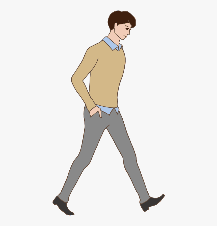 Walking clipart download