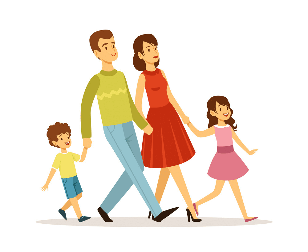Walking clipart free images
