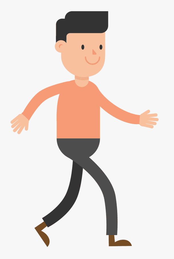 Walking clipart png free