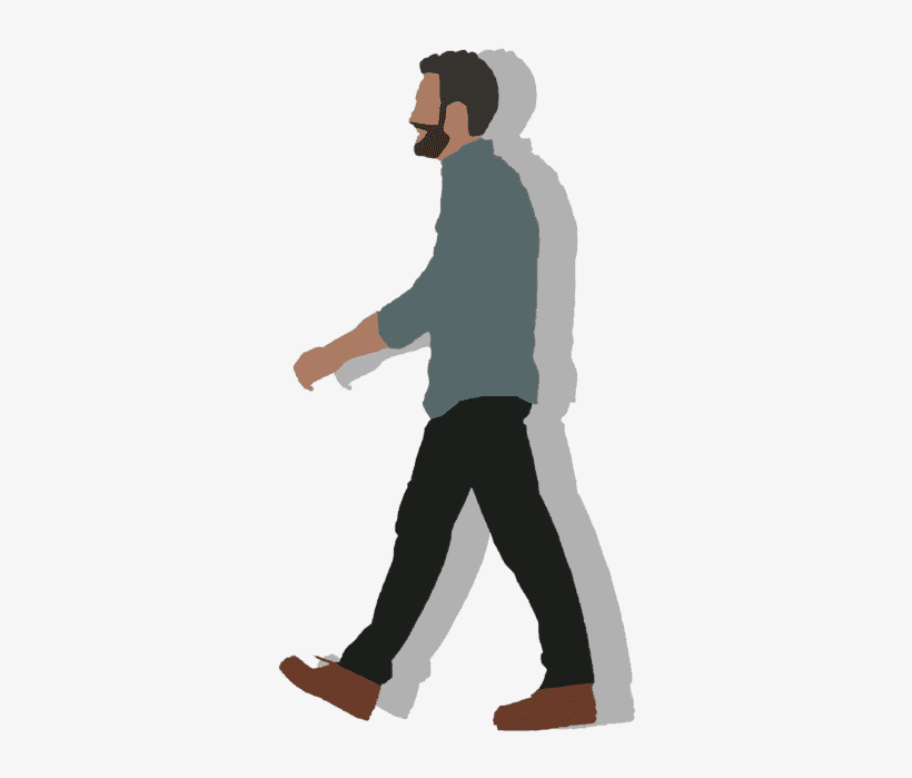 Walking clipart png image