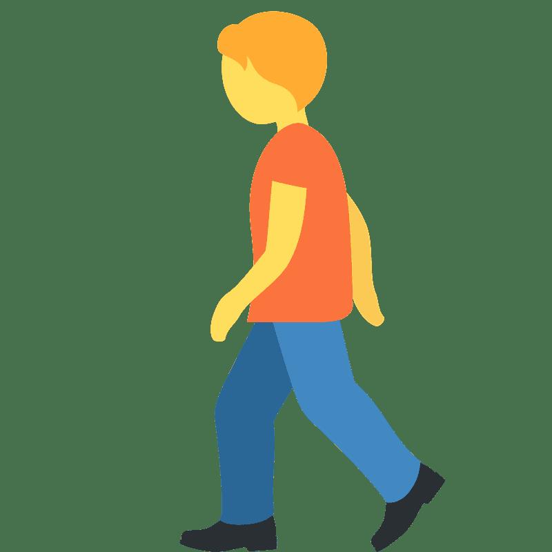 Walking clipart transparent 2