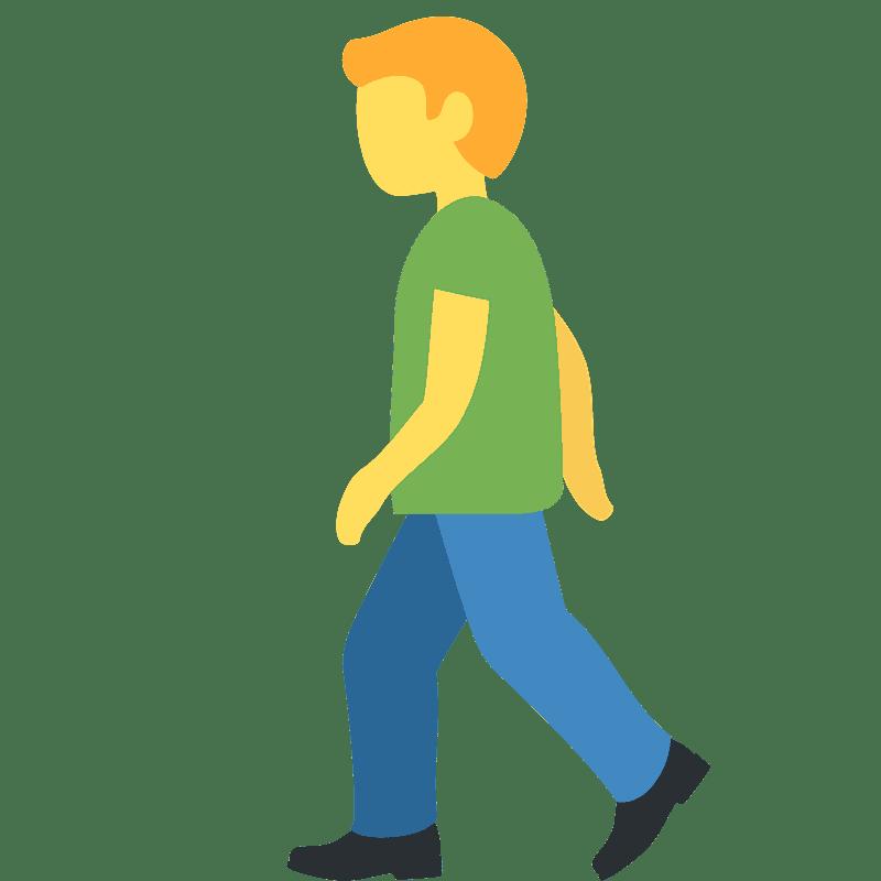Walking clipart transparent 4