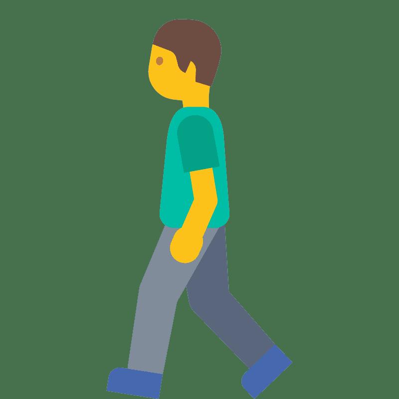 Walking clipart transparent 5