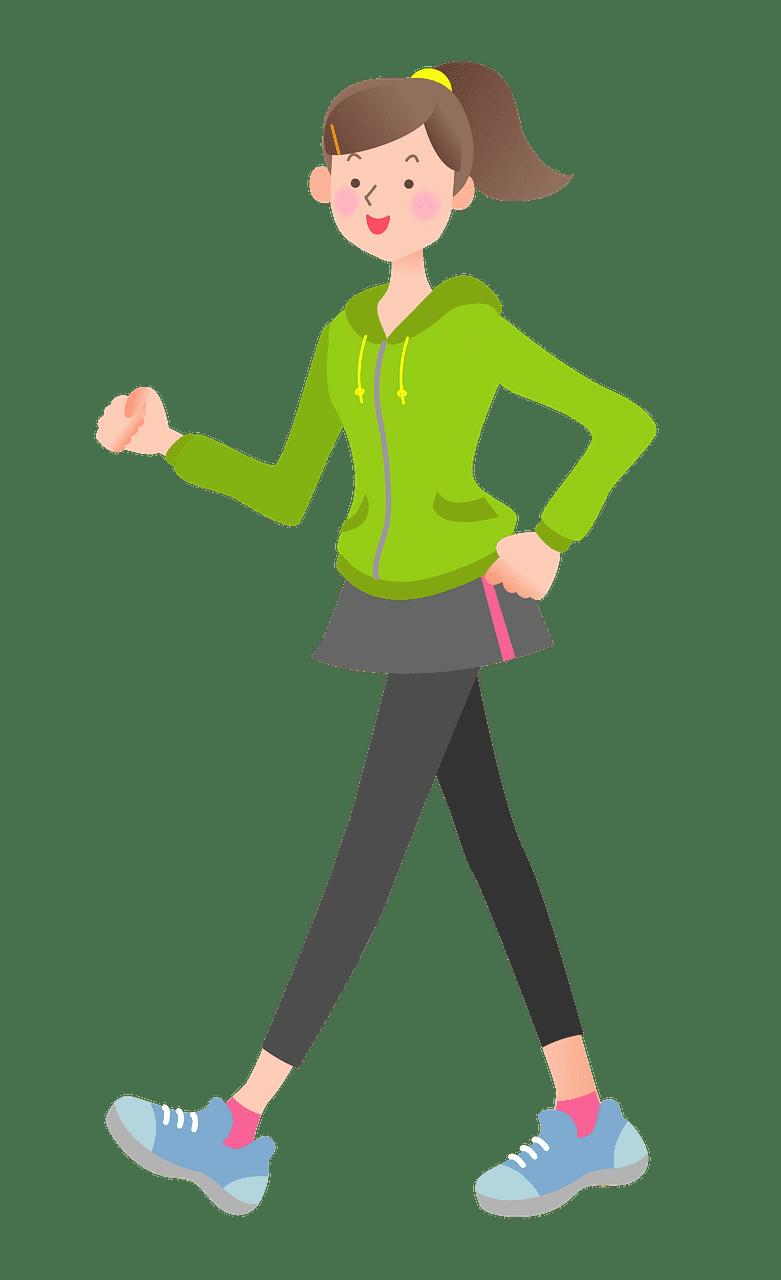 Walking clipart transparent background 6