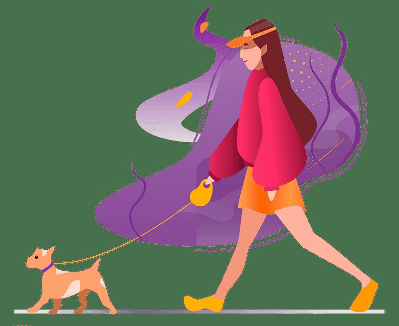 Walking clipart transparent free