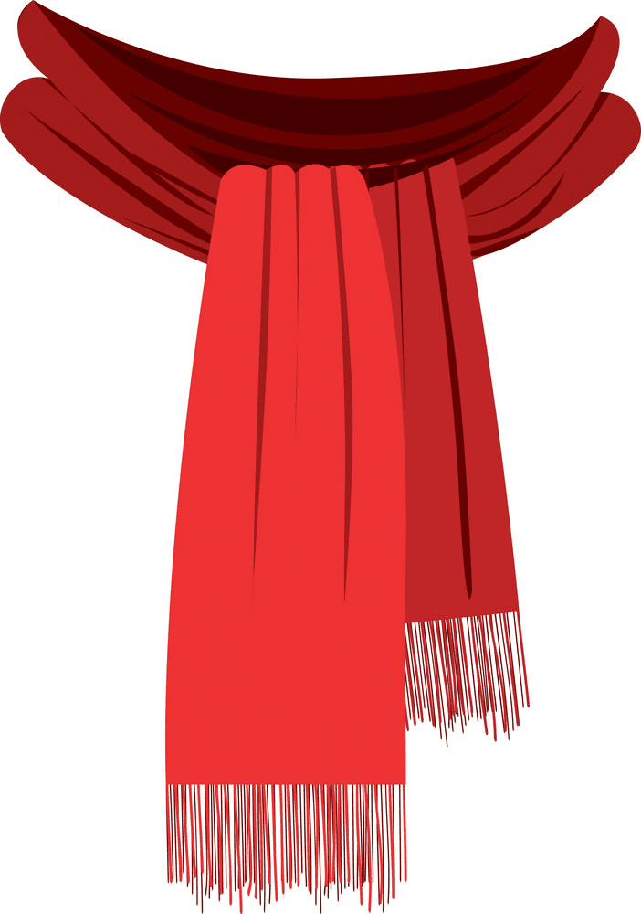 Winter Scarf clipart free download