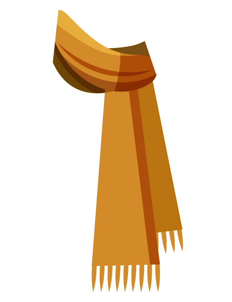 Winter Scarf clipart free