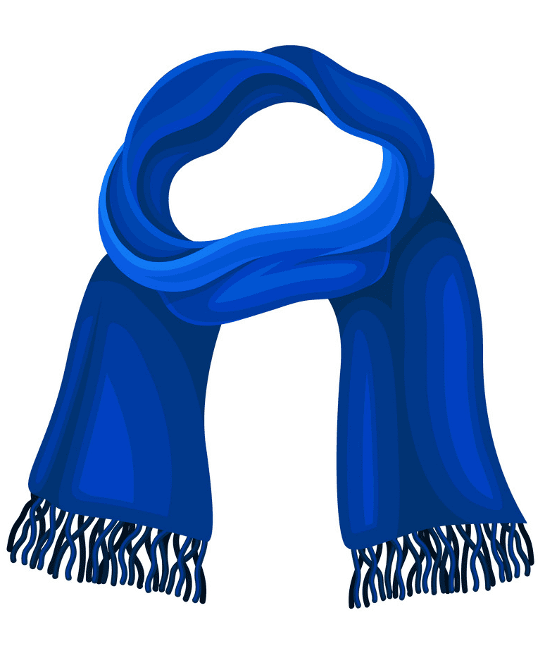 Winter Scarf clipart image