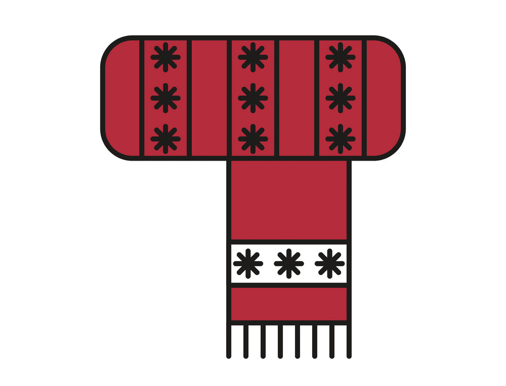 Winter Scarf clipart png image