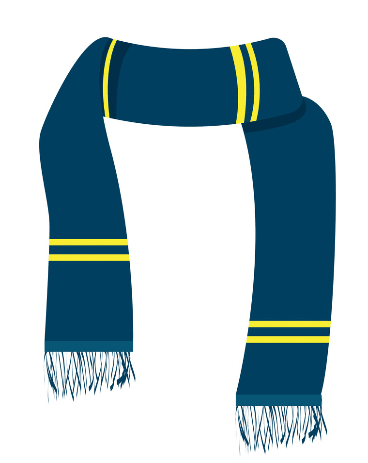 Winter Scarf clipart