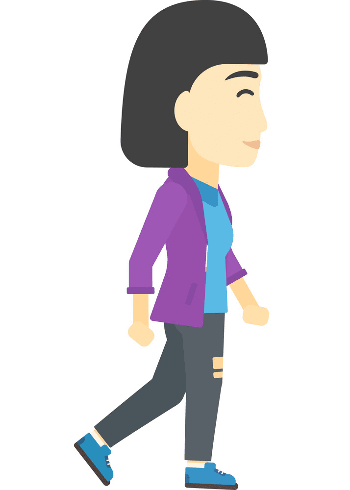 Woman Walking clipart picture