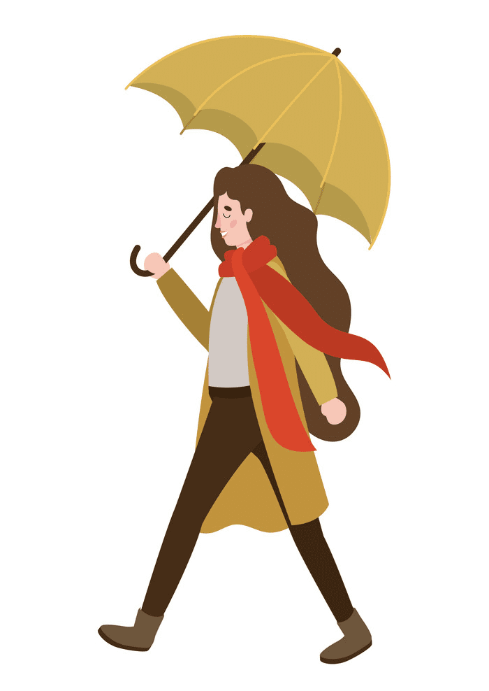 Woman Walking clipart png download
