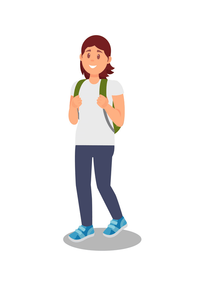 Woman Walking clipart png free
