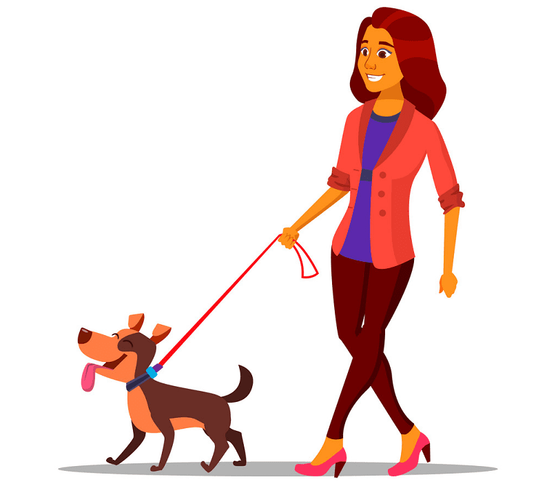 Woman Walking clipart png images