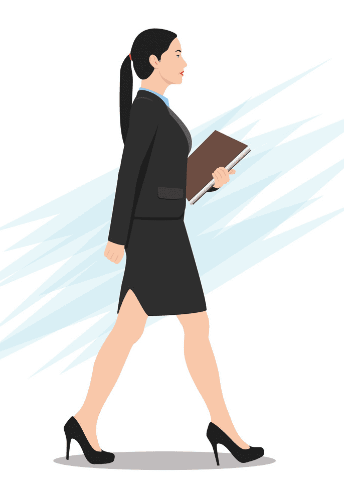 Woman Walking clipart png