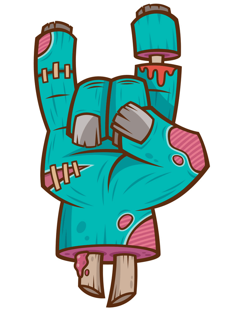 Zombie Hand clipart download