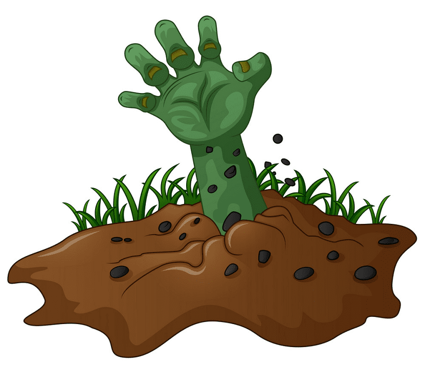 Zombie Hand clipart free download