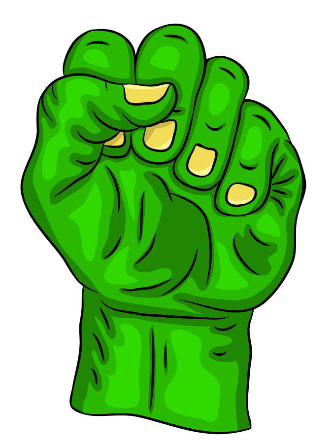 Zombie Hand clipart image