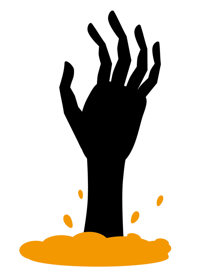 Zombie Hand clipart images