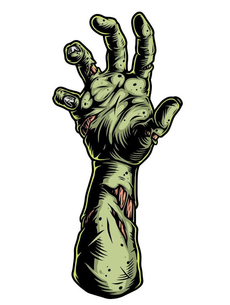Zombie Hand clipart picture