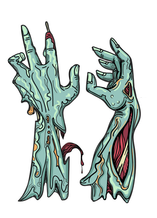 Zombie Hand clipart png download