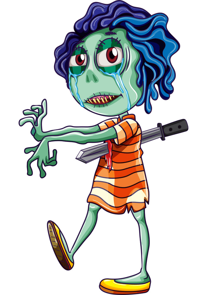 Zombie clipart free download
