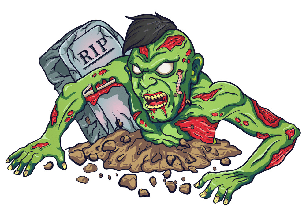 Zombie clipart png for kids