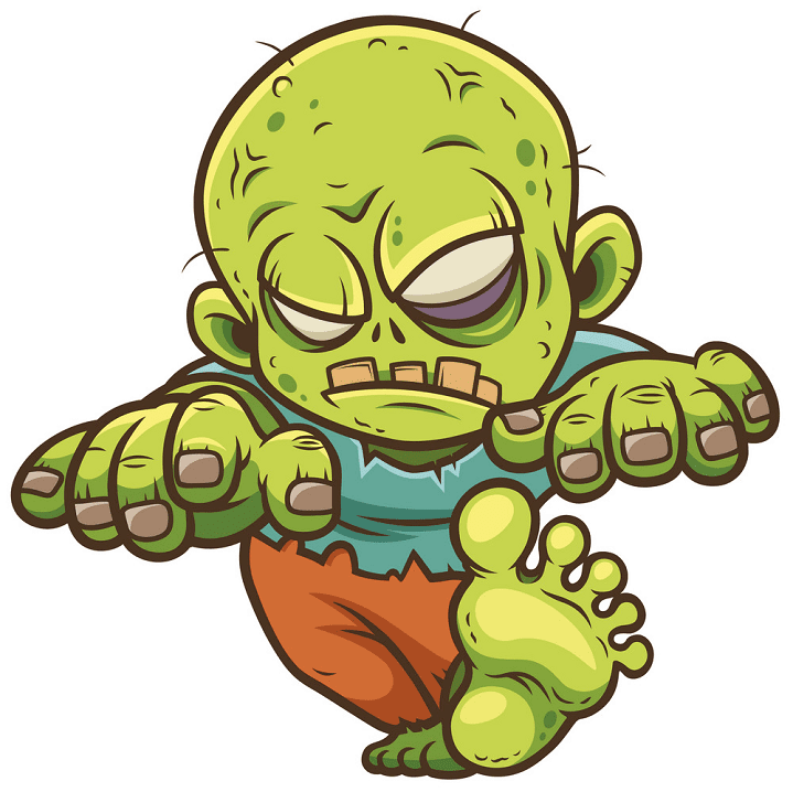 Zombie clipart png
