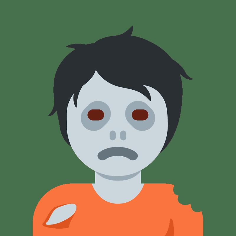 Zombie clipart transparent 10