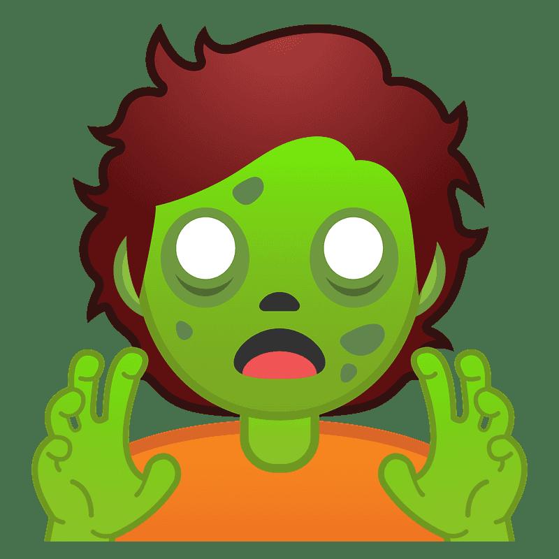 Zombie clipart transparent 12