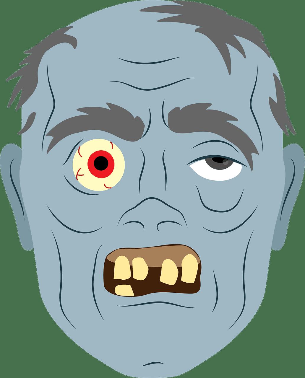 Zombie clipart transparent 14
