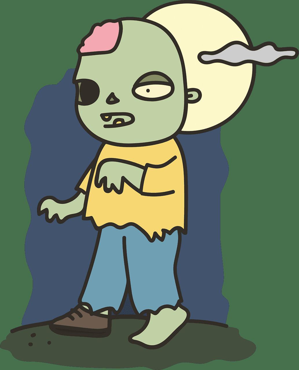 Zombie clipart transparent 15