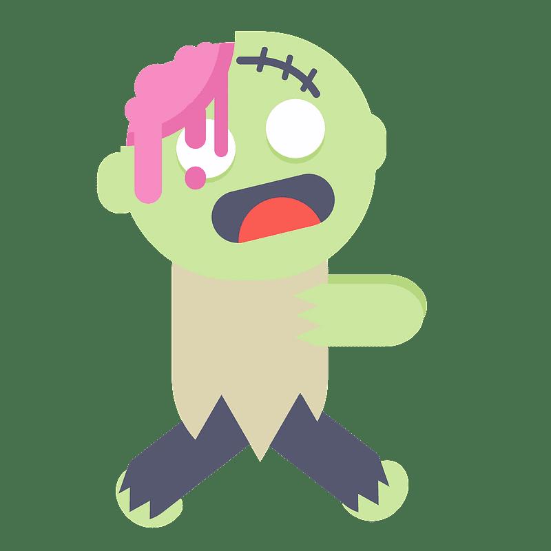 Zombie clipart transparent 3