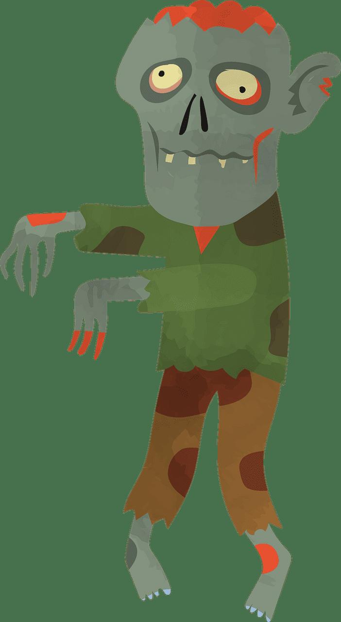 Zombie clipart transparent 4