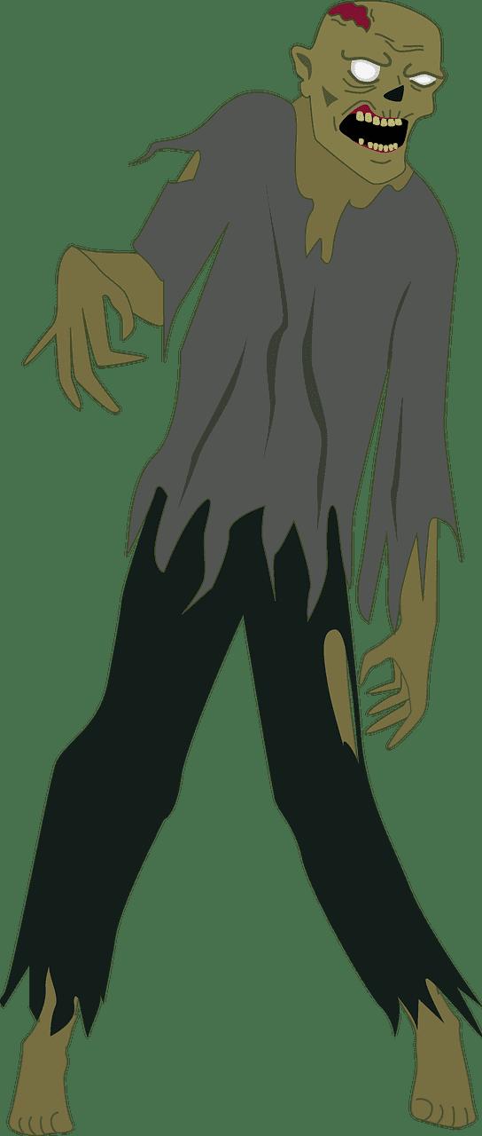 Zombie clipart transparent 5