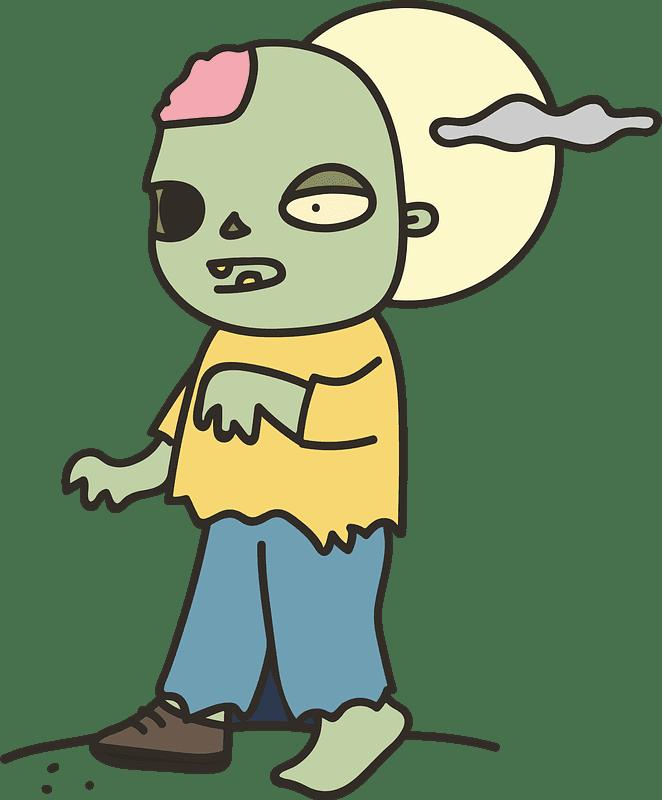 Zombie clipart transparent 6