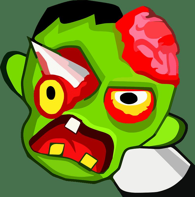 Zombie clipart transparent 7