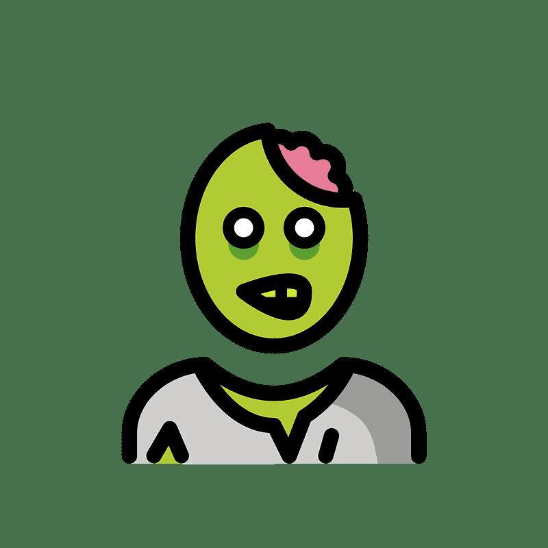 Zombie clipart transparent 9